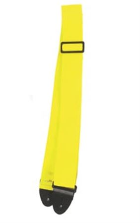 Nylon 2 Inch Guitar Strap - Yellow