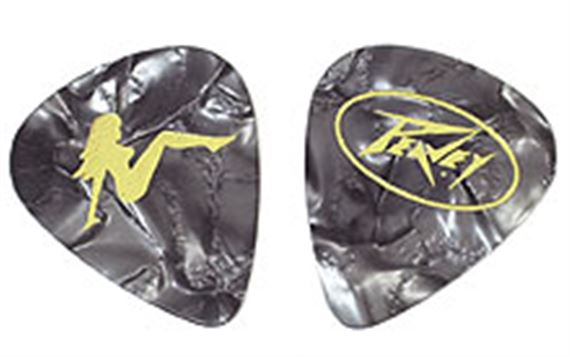 Triple XXX 351 Guitar Picks Medium Black - 12 Pack