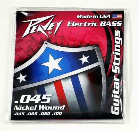 Nickel Wound Bass Strings 45s