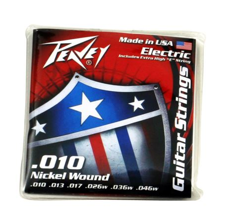 Nickel-Wound Guitar Stings 10s