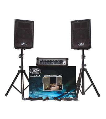 Audio Performer Pack™ Complete Portable PA System