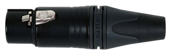 Neutrik NC3FXX 3-pole Female XLR Cable-mount Connector