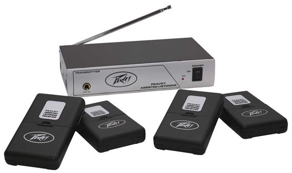 Peavey® Assisted Listening System 72.9 MHz