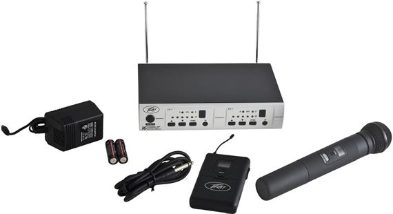 PV 16DR CHANNEL UHF DUAL RECEIVER - HH - GTR