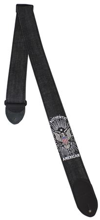 Denim 2 Inch Guitar Strap - American Eagle