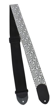 Polyester 2 Inch Guitar Strap - Triangle