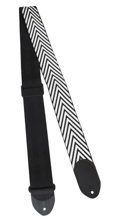 Polyester 2 Inch Guitar Strap - Angle