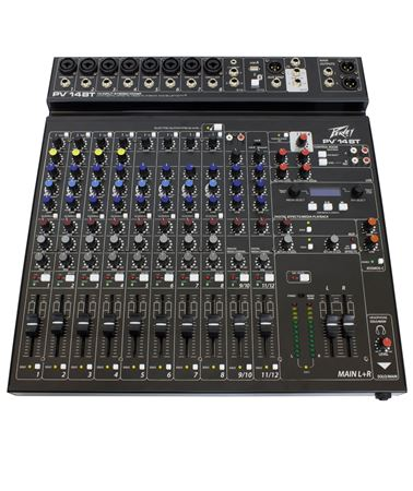 PV® 14BT Compact 14 Channel Mixer with Bluetooth