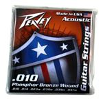 Phosphor Bronze-Wound Acoustic Guitar Strings 10s