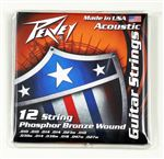 Phosphor Bronze-Wound Acoustic Guitar Strings 12s