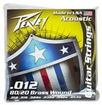 80/20 Acoustic Guitar Stings Brass-Wound 12s