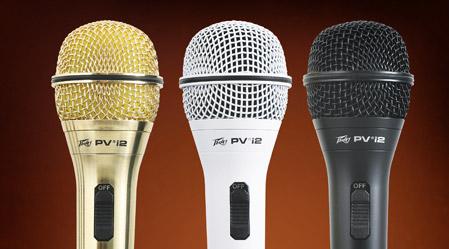 PV Series Microphones