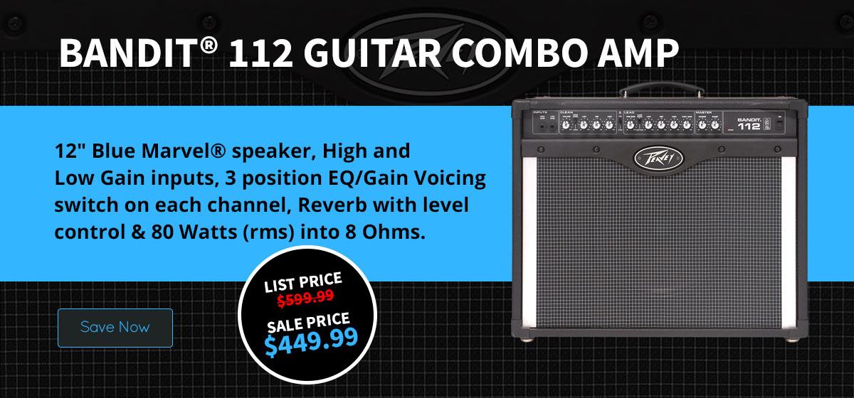 Bandit® 112 Guitar Combo Amp
