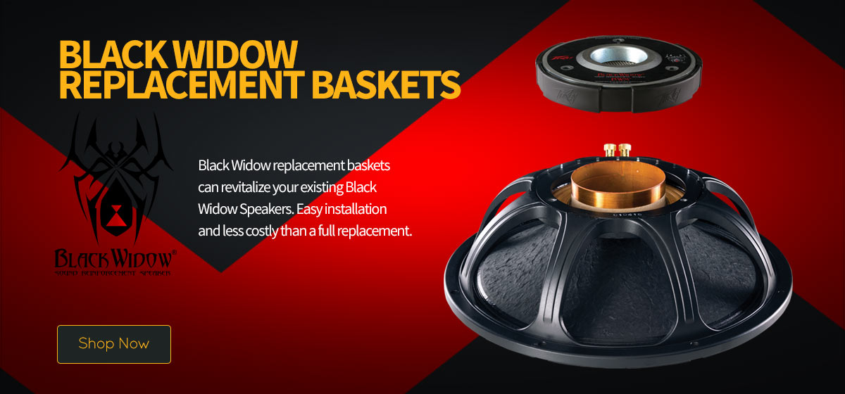 Black Widow Replacement Baskets
