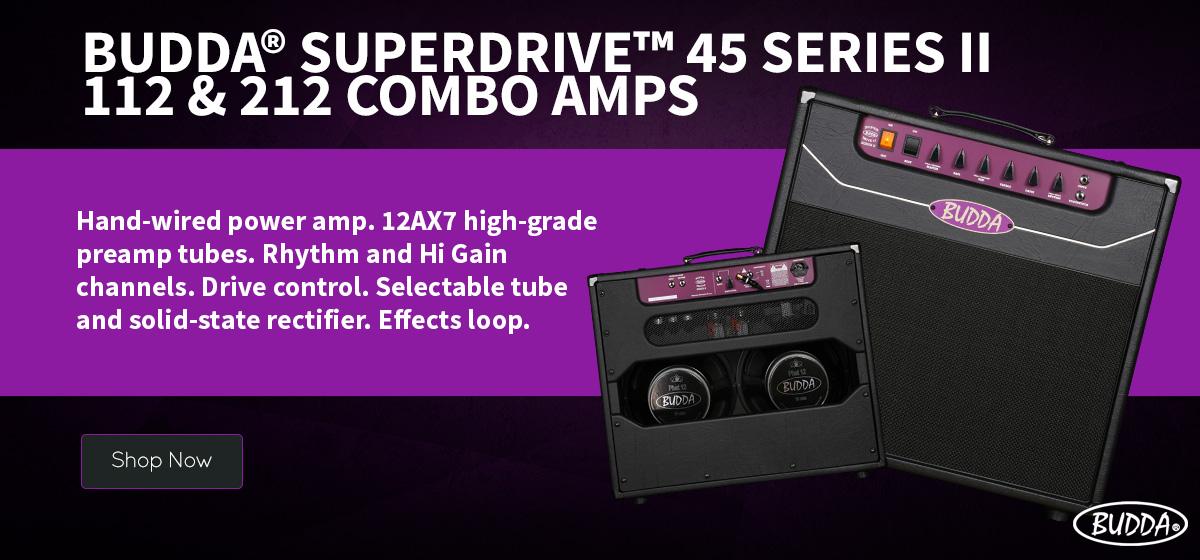Budda Superdrive Combo Amps
