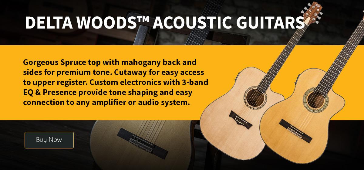 Delta Woods Acoustic Guitars