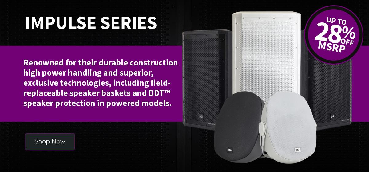Impulse Series Speakers