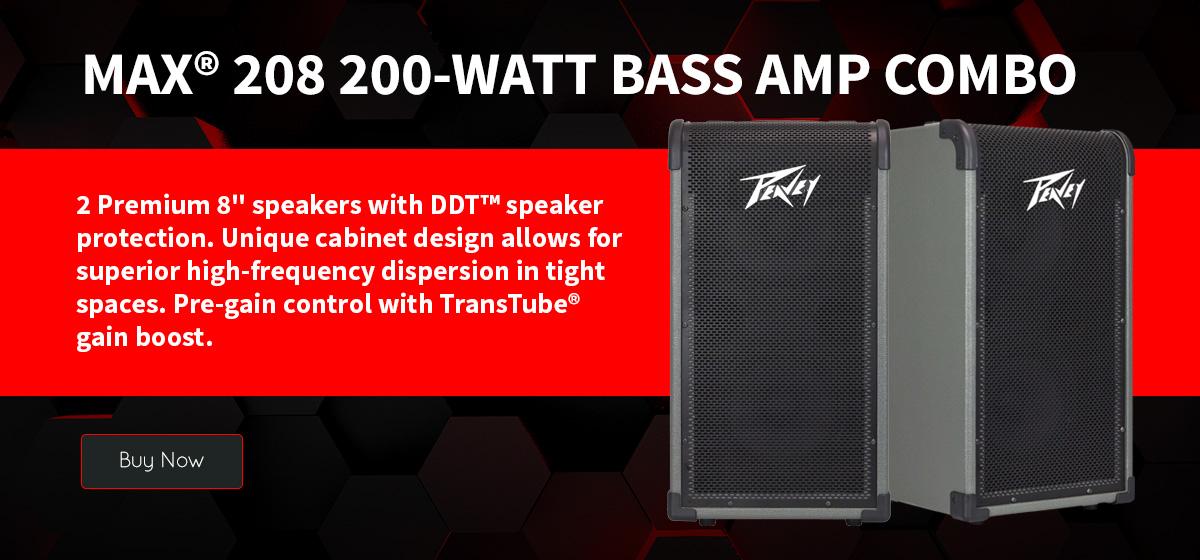 MAX® 208 200-Watt Bass Amp Combo