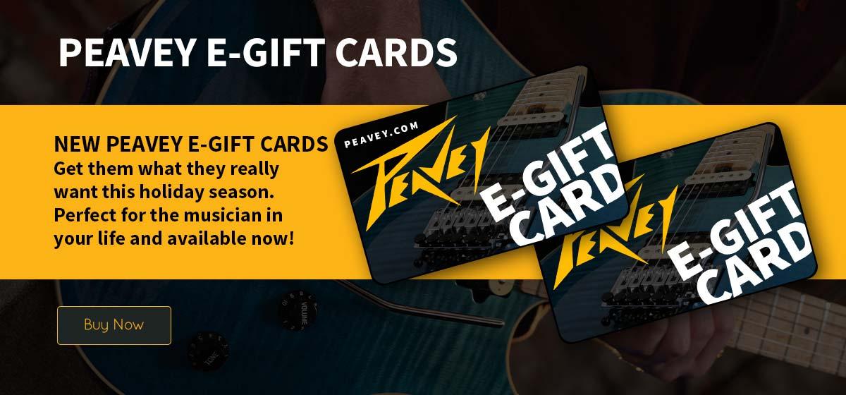 Peavey E-Gift Cards