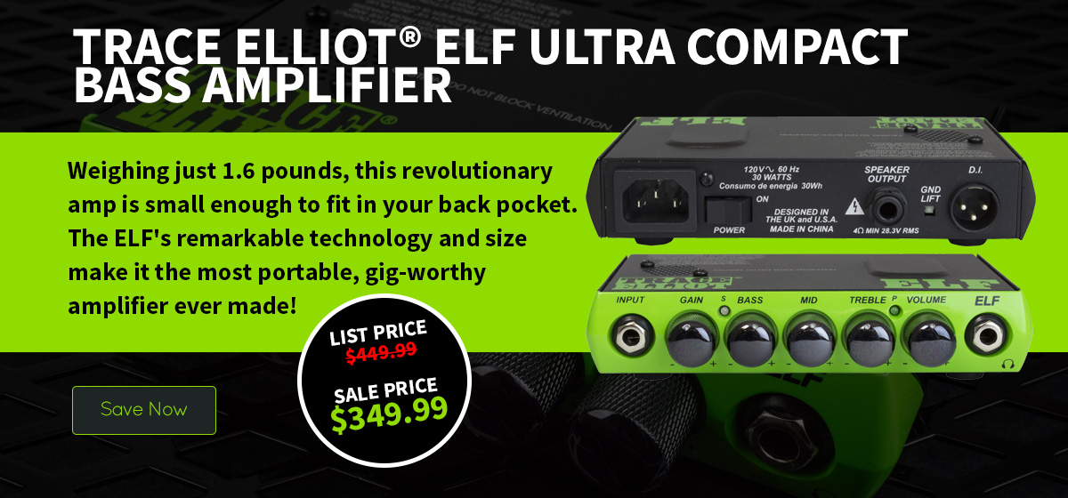 Trace Elliot® ELF Ultra Compact Bass Amplifier