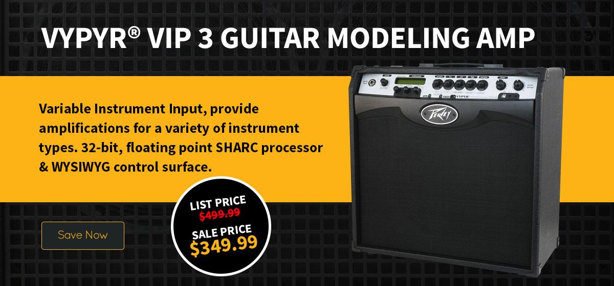 Vypyr® VIP 3 Guitar Modeling Amp