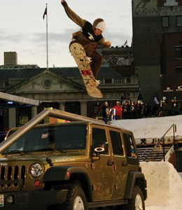 Jeep NYC Snowboarding Event