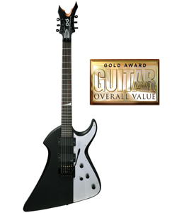 Peavey PXD Void Guitar Wins Guitar World Gold Award