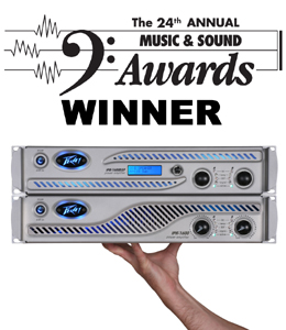 Peavey IPR 1600 Wins Best New Power Amp