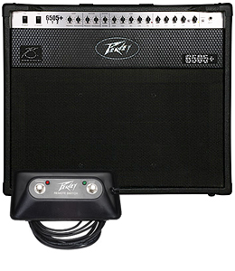 Free Footswitch with Peavey 6505 Plus 112 Combo Rebate
