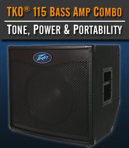 Rockmaster Bass Free With TKO 115 Bass Amp Combo