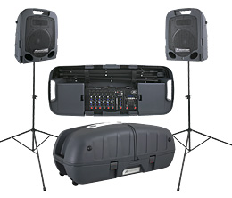 Extended Line of Escort Portable PA Systems