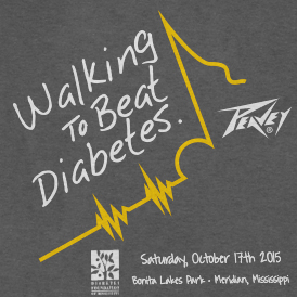 Peavey Electronics Walks To Beat Diabetes
