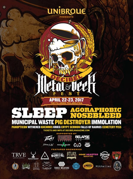 First Annual Decibel Metal & Beer Fest in Philly