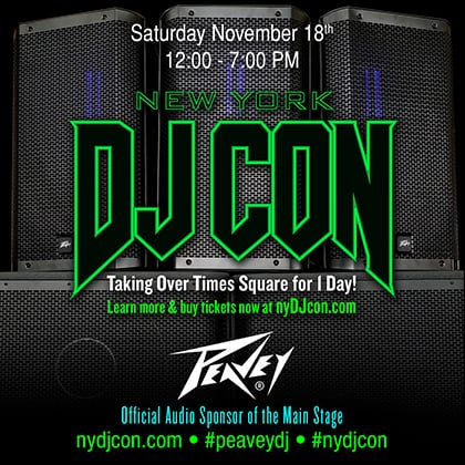 Peavey Set to Party Rock New York DJ Con