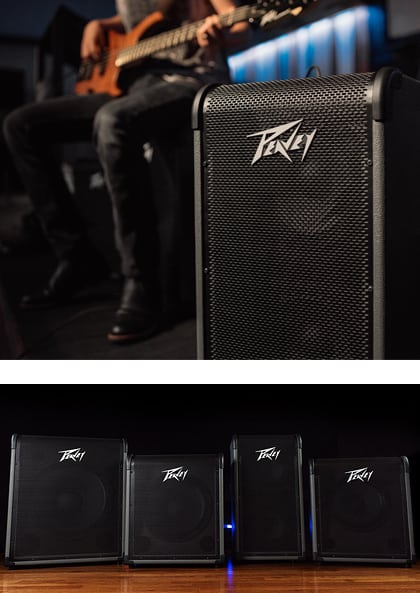Peavey New MAX Bass Amplifier Series